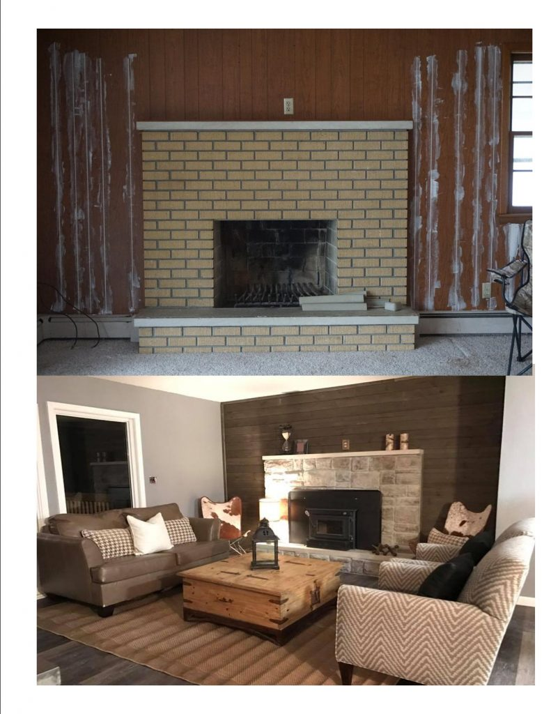 New Living Room and Fireplace Additions and Remodeling in Kansas