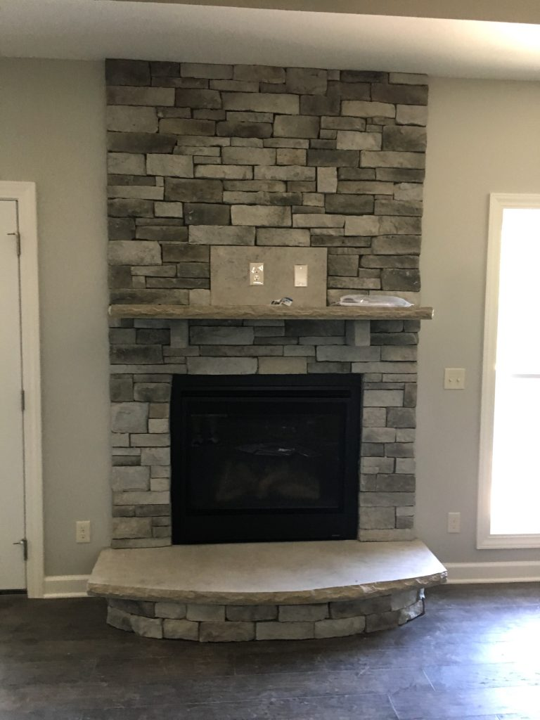 New Modern Fireplace Additions and Remodeling in Kansas