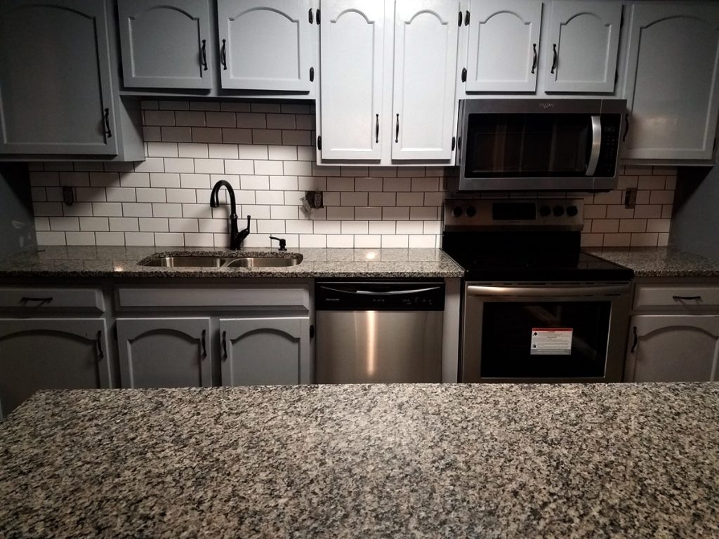 New Kitchen Granite Counters Additions and Remodeling in Kansas