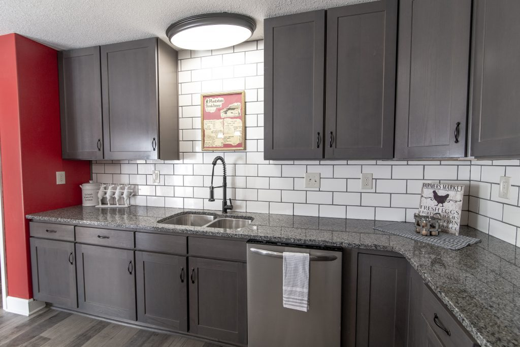 New Kitchen Sink and Cabinets Additions and Remodeling in Kansas