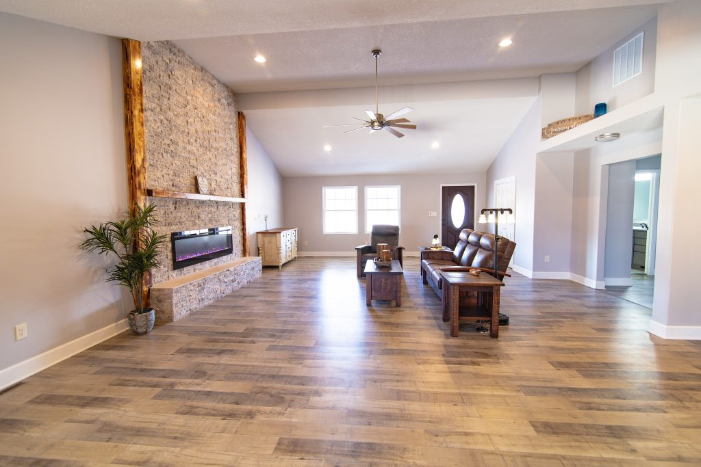 New Flooring Instillation